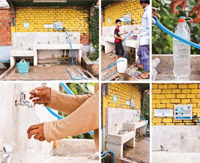 Water station at CCF #5