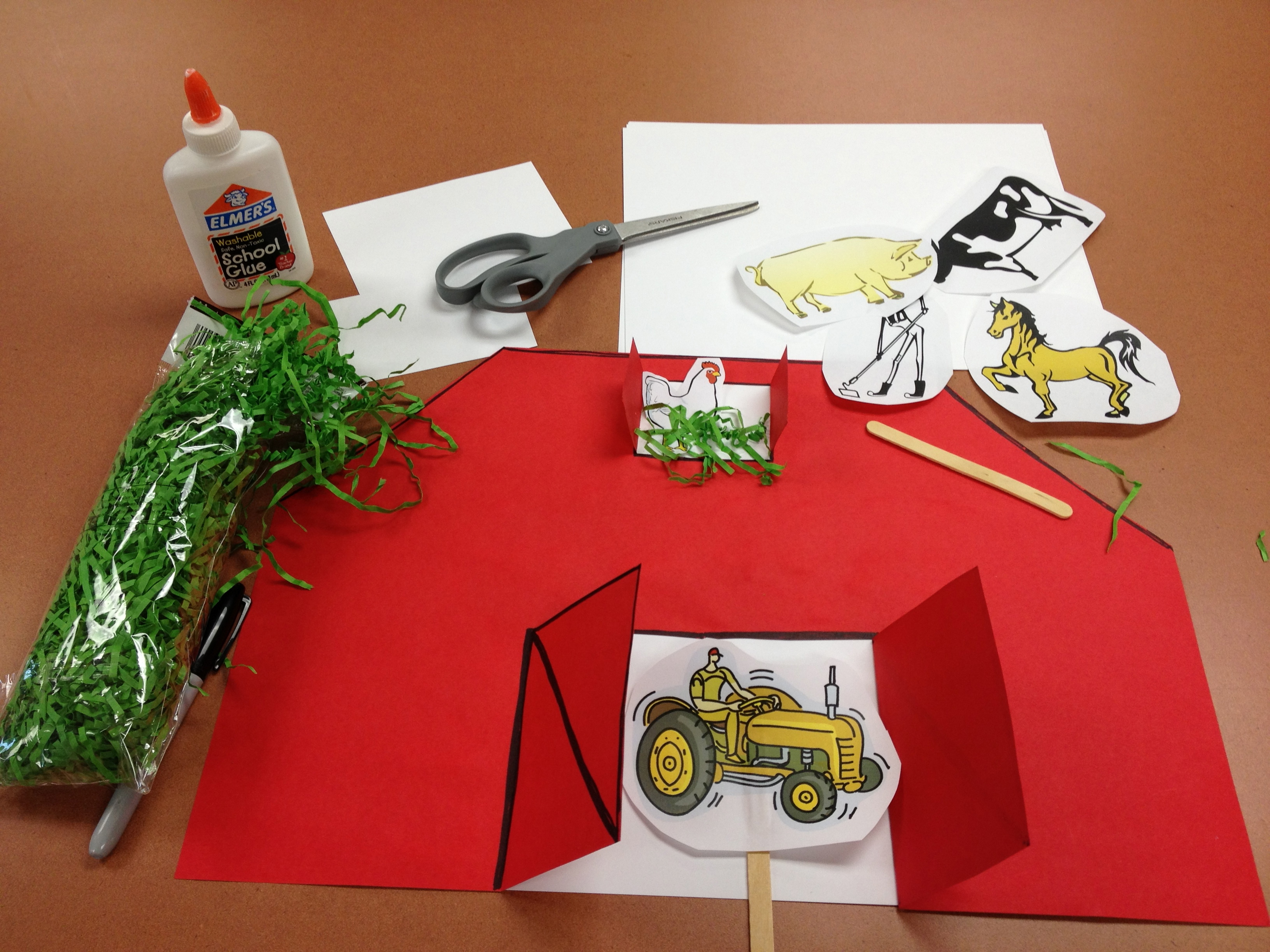 Preschool Storytime Farm Animals