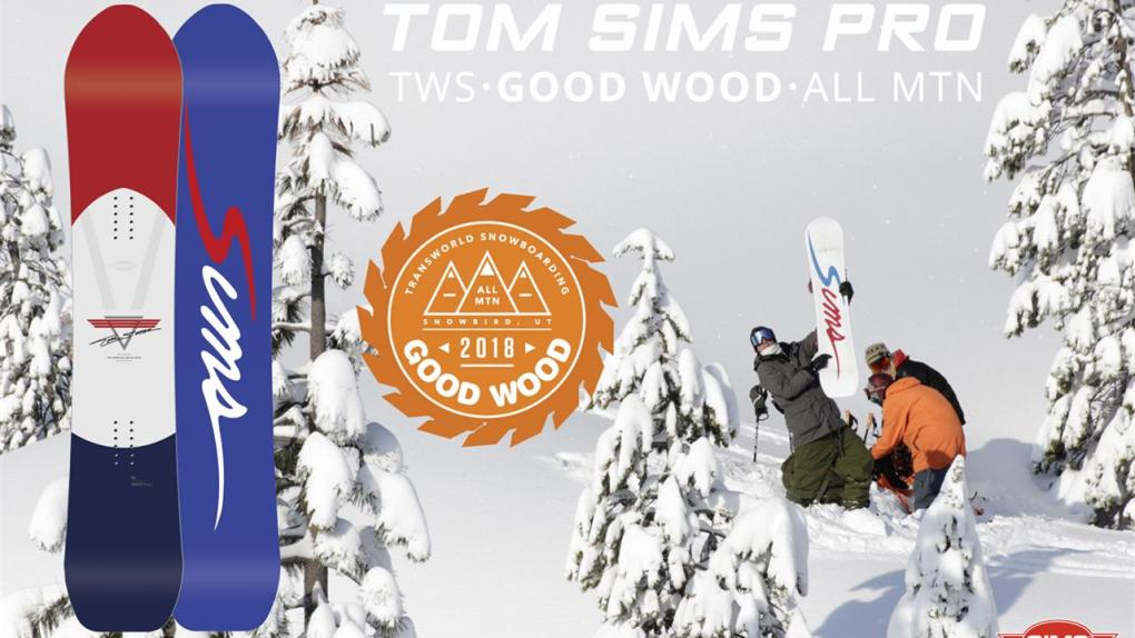 Tom SIMS Pro - Good Wood Award