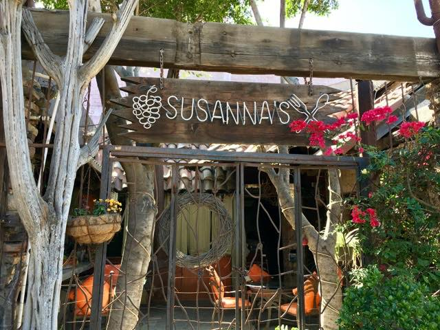 entrance-to-susannas-restuarant | Never to Old to Travel | Gary House