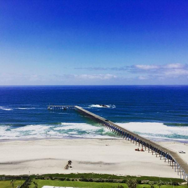 Rosarito Beach Hotel room view | Never to Old to Travel | Gary House