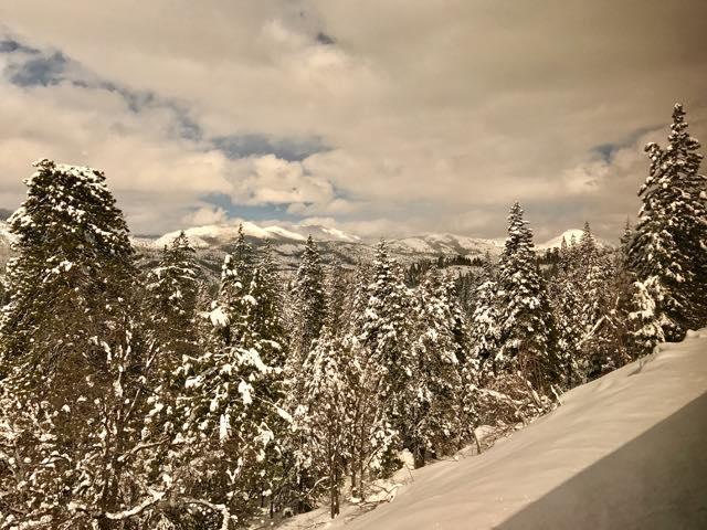 Snow packed Sierra Nevada's | NevertoOldtoTravel.com | Gary House