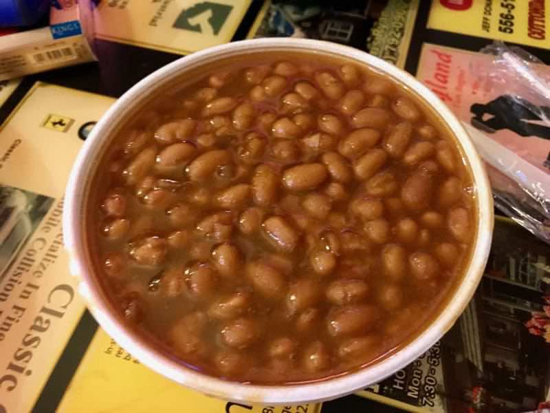 Side of Baked Beans | nevertooldtotravel.com | Gary House