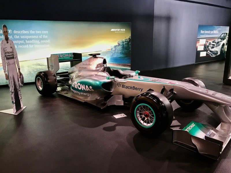 Mercedes Benz Formula 1 Racing Car | nevertooldtotravel.com | Gary House