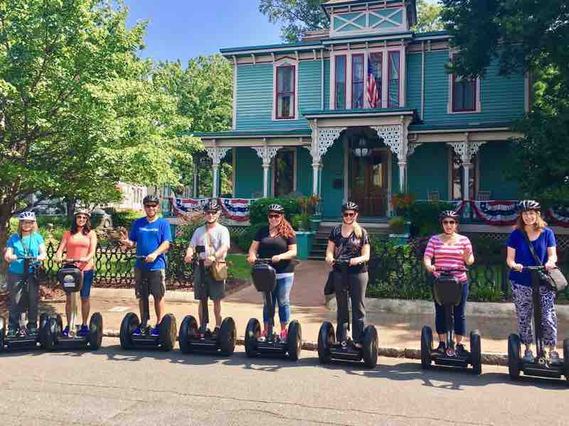 Exploring Charlotte N.C. on a Segway Tour