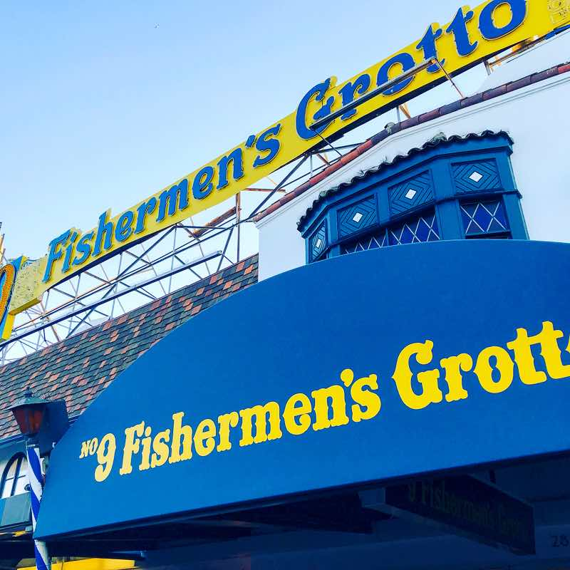 San Francisco's Fishermans Wharf Fishermen's Grotto | Nevertooldtotravel.com | Gary House
