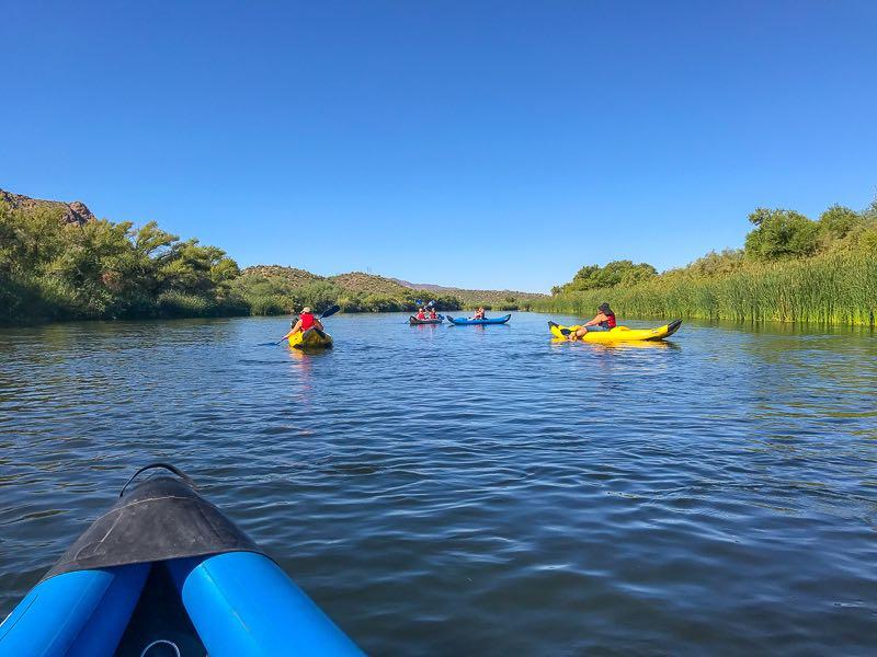Fun Kayaking Adventure in the Sonoran Desert