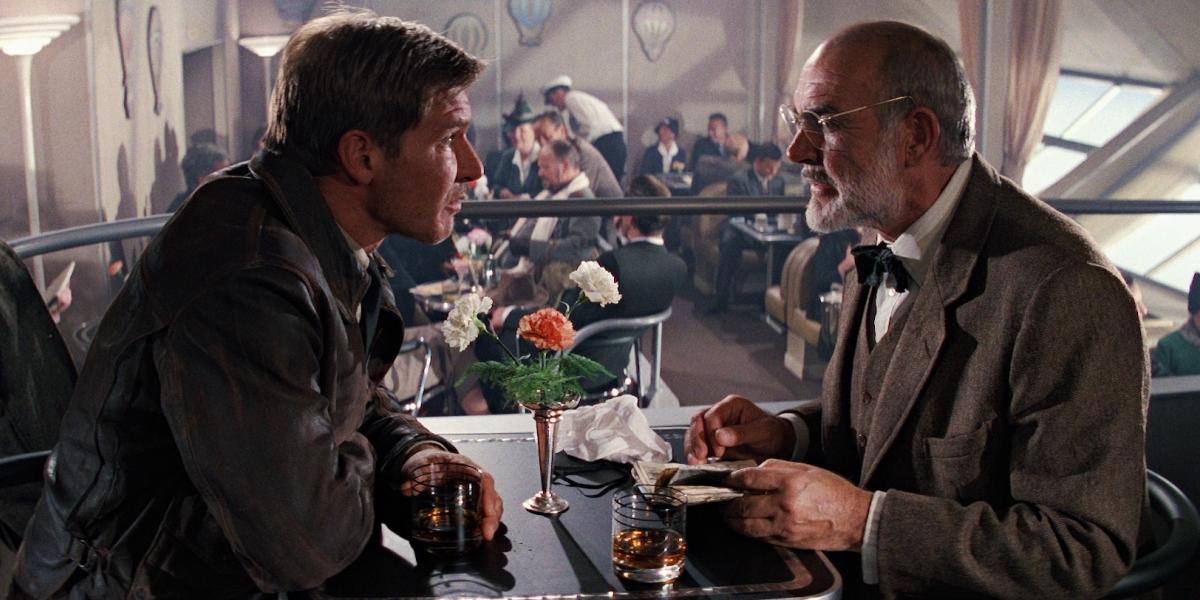 Harrison Ford Sean Connery