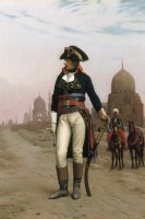 Napoleon in Egypt painting