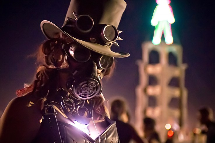Steampunk Burning Man