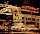 Automat New York at night 1946