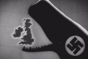 Nazi whale swallows Britain