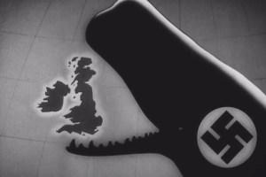 Nazi whale swallows Britain