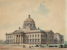 The Hague Peace Palace design by Franz Heinrich Schwechten