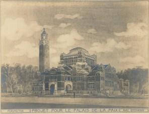 The Hague Peace Palace design by Hendrik Petrus Berlage