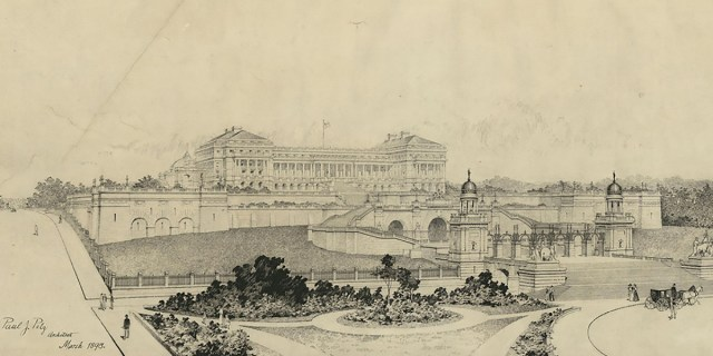 Executive Mansion by Paul J. Pelz