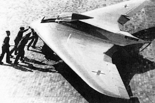 Horten Ho IX German flying wing