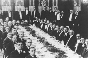 Institute of Radio Engineers banquet