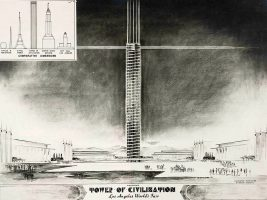 Los Angeles Tower of Civilization design