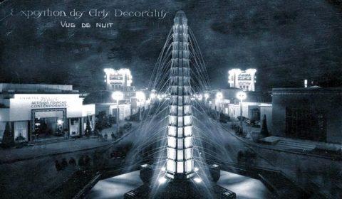 1925 Paris Expo postcard