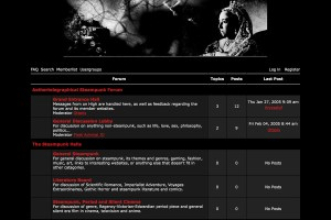 Aether-Telegraphical Steampunk Assembly website
