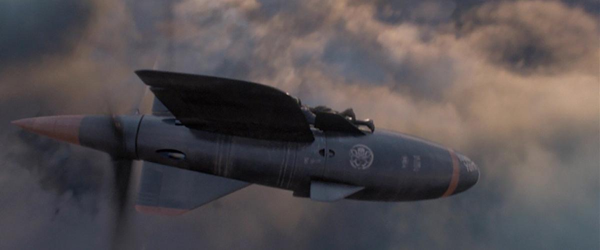 Captain America: The First Avenger Parasit flying bomb