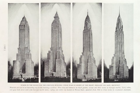 Chrysler Building designs