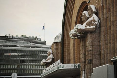 Helsinki Central Station Finland