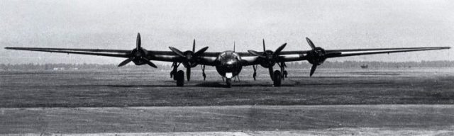 Messerschmitt Me 264 German bomber
