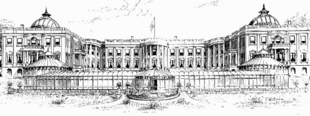 Proposed White House expansion