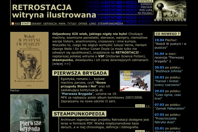 Retrostacja website