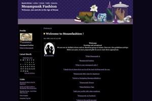 Steamfashion website