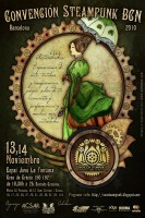 Steampunk Convention Barcelona poster