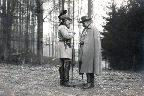 Wilhelm II of Germany Franz Ferdinand of Austria