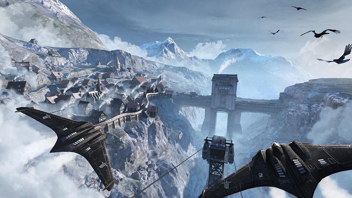 Wolfenstein: The New Order flying wings