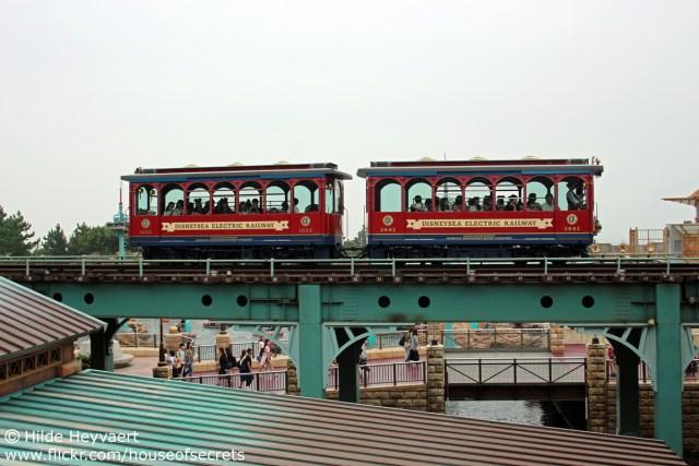 Tokyo Disney Sea railway