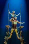 Official photograph of Cirque du Soleil's steampunk show KURIOS – Cabinet of Curiosities (Martin Girard)