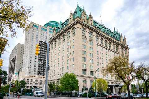 Fort Garry Hotel Winnipeg Canada