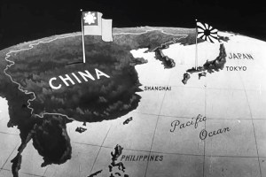 1930s East Asia map