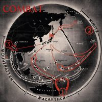 1943 Pacific War map