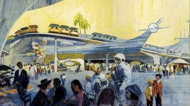 Disney Tomorrowland concept art