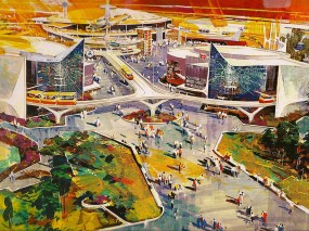 Herb Ryman Disney Tomorrowland concept art