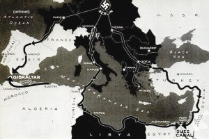 Nazi-occupied Europe map