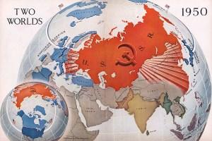 1950 Cold War map