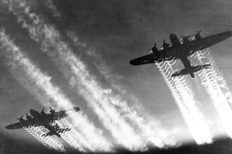 B-17 Flying Fortress bombers