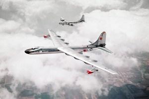 Boeing B-50 Superfortress Convair B-36 Peacemaker bombers