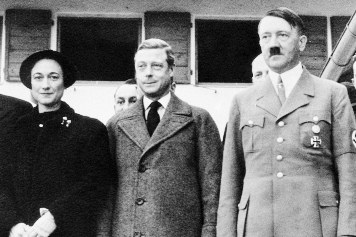 Edward VIII Adolf Hitler