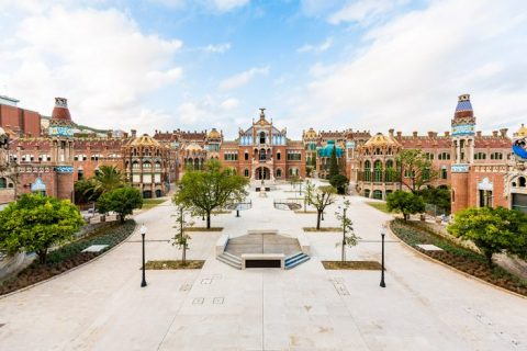 Hospital de Sant Pau Barcelona Spain