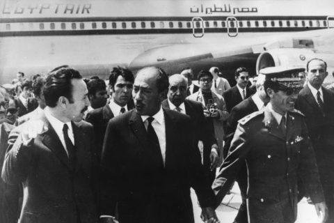Houari Boumedienne Anwar Sadat Muammar Gaddafi