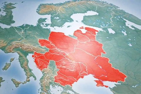 Intermarium map